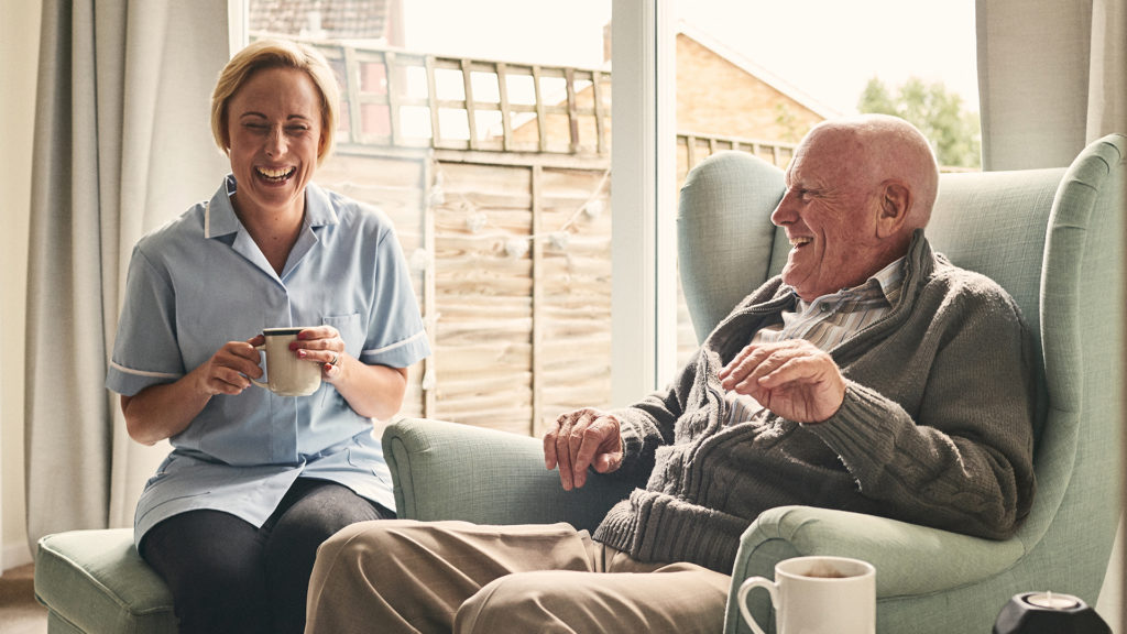 Vibrant senior living community