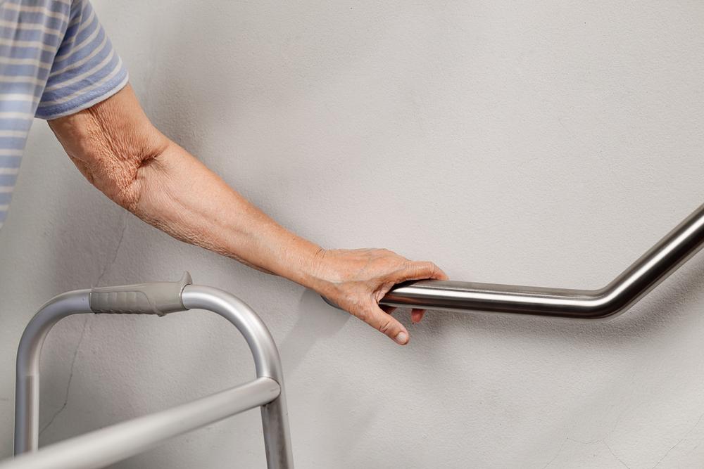 "alt=""senior citizen fall safety"""