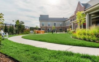 Oakleigh Macomb Senior Living lawn