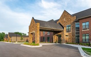 Oakleigh Macomb Senior Living front entrance